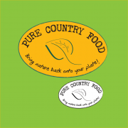 Pure Country Food logo